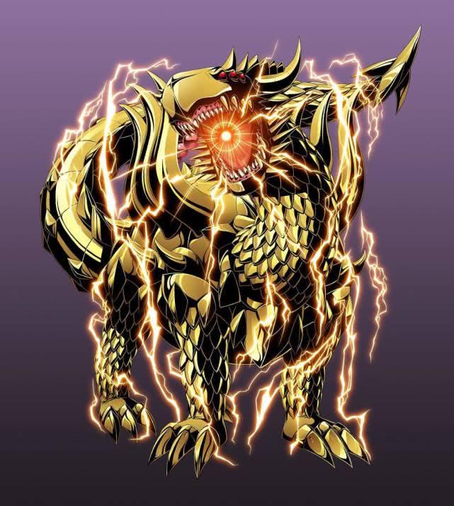 数码宝贝:镇守数码界的神明,四圣兽到底多强?他们之上有君王!