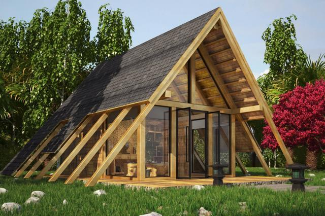 为什么美国很多房子是用木头建的,而不用石砖建呢?