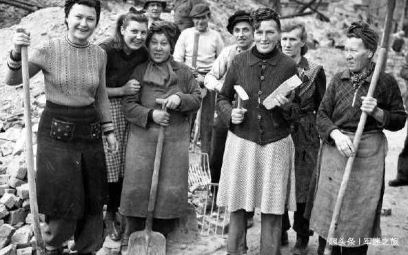 4万人不眠不休清理25年才能完成的砖瓦碎片,德国女人两个月解