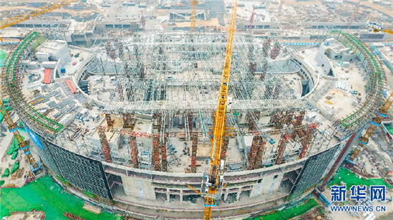 郑州博物馆新馆项目钢结构工程完工