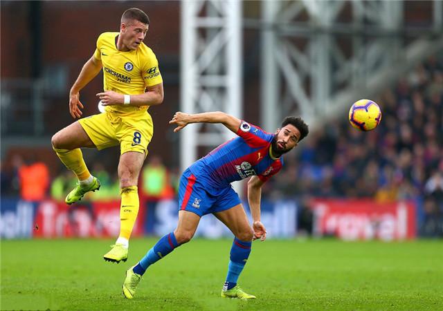 英超:水晶宫0-1切尔西,蓝军后卫坎特打进本场唯一进球