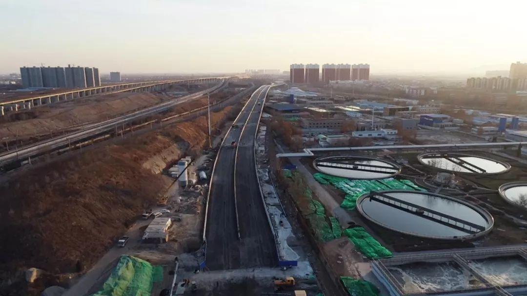 好消息!中华大街南延工程主桥主路1月1日正式开通!