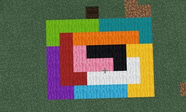 我的世界:如果染料颜色可以自己混合,MC将诞生很多的画家