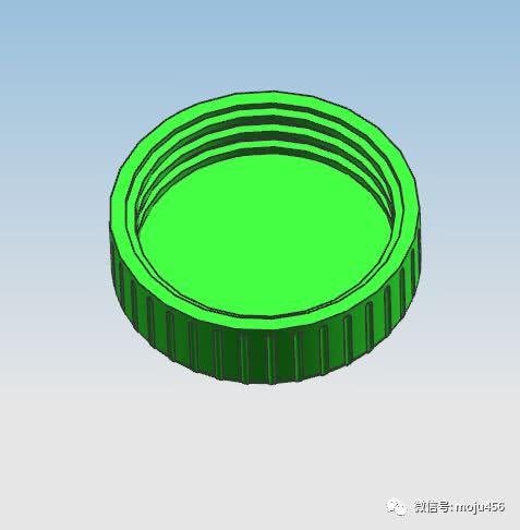 模具设计瓶盖整圈脱牙内抽机构的设计