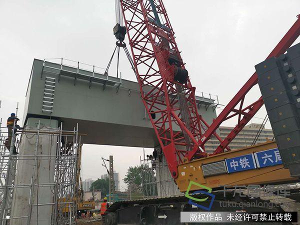 北京丰台站改丰台特大桥拉开钢结构施工序幕