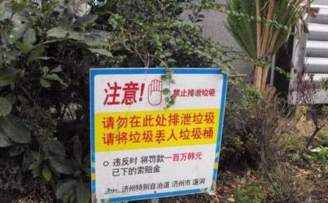 针对中国游客设立标牌,垃圾全让中国人背锅,事实却狠狠打脸!