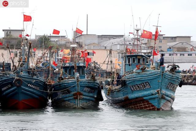 修整渔具准备休渔 5月1日起山东省进入伏季休渔期