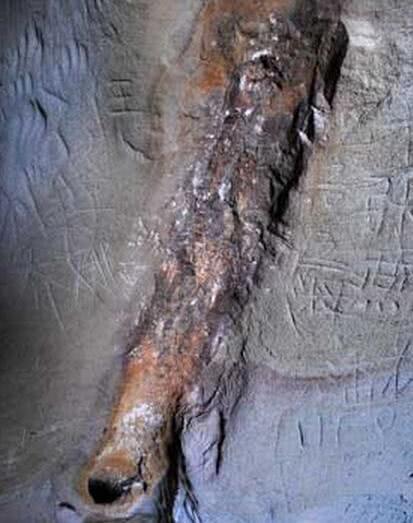山脚发现一6500万年前金属管,专家鉴定非天然形成,至今是迷