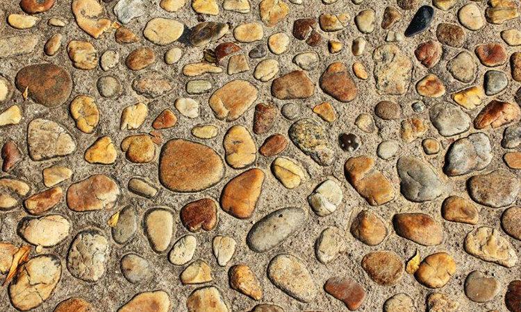 """我家用""""鹅卵石""""铺地板,完工后太漂亮,亲戚看了都眼红!"""