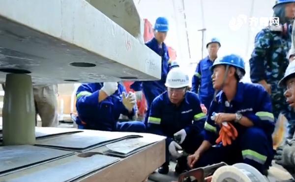 """【新青年 耀齐鲁】""""蓝鲸1号""""研发设计团队:自力更生 铸造""""大国重器"""""""