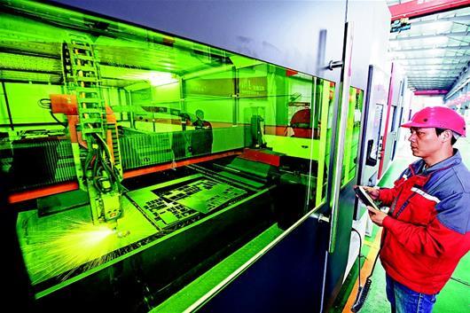 图文:华工科技激光切割机远销海外