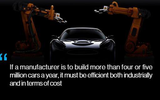 盖世汽车讯 由于价格已跌至1欧元/千克约合1.17美元/千克,钢材已成为轻型车最常用的一款材料,约占当今车重的近60%平均值。
