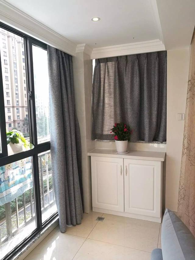 晒晒我家新房,已装好搬好家具,听老婆话把阳台包进客厅果然赞!