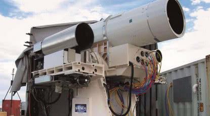 美国激光武器试验成功