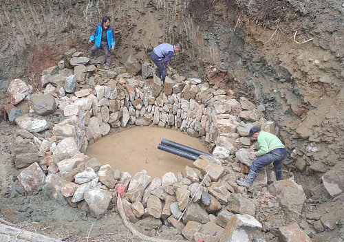 拧开水龙头就有水吃  汉阴已建成农村安全饮水工程102处