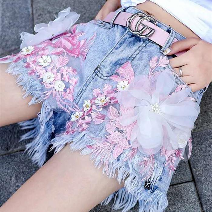 """12星座专属""""心动小短裤"""",水瓶座拼接蕾丝珍珠,双子座个性印染"""