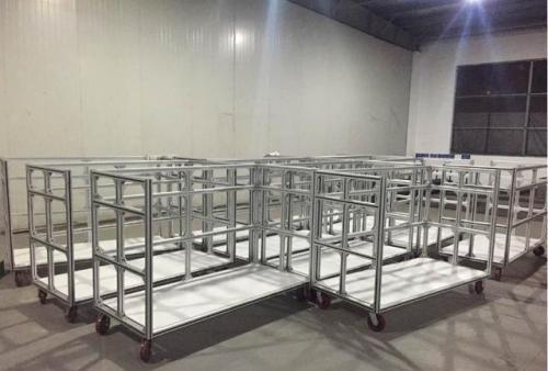 流水线铝型材厂家分享铝型材配件及连接件