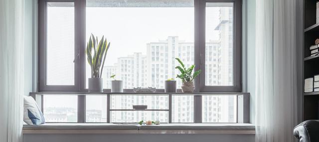 飘窗只能放花卉?学会这几个设计,飘窗也能玩出大花样!