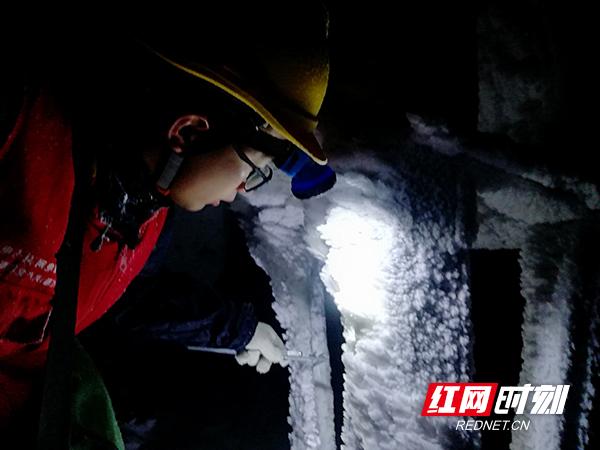 -9.2℃的天塘山之巅 他们坚守电力哨所