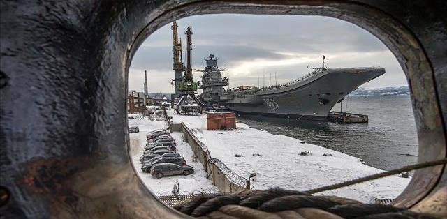 俄军航母又出事,俩军人盗窃393个电子元件,两年没被发现