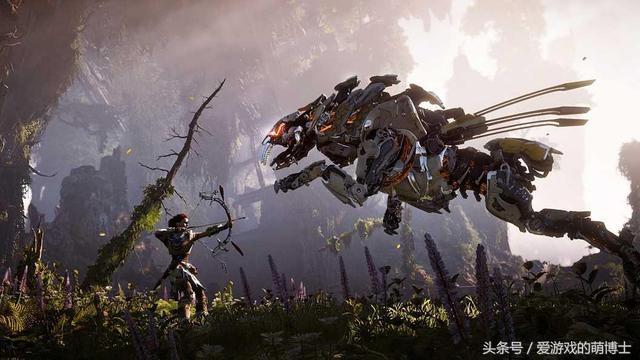 怪物猎人世界与地平线联动,机械兽猫猫太拉风!