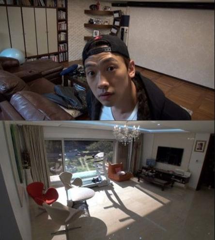 参观Rain在韩国的豪宅,家里就像个健身房,走到哪都有健身器材