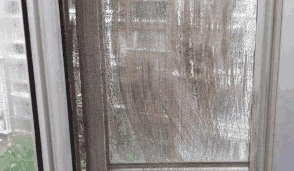 风大刮脏了纱窗,巧用这3招,1喷1擦秒干净