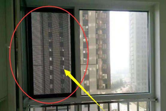 头一次见家里装这种纱窗,耐用又便宜,还能当防盗网用