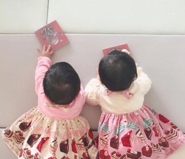 张杰罕见秀双胞胎女儿,裙子成亮点价格被曝,网友:活该你这么红