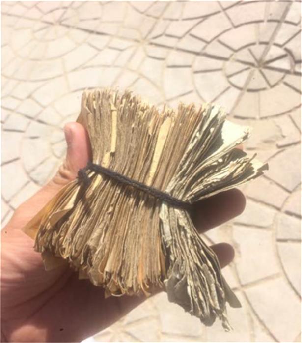 家里找到一摞纸分币,其中一张堪称完美,价值三百