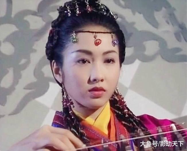 黎姿演的赵敏有4种额饰, 珍珠流苏最美艳, 网友: 黎姿之后无赵敏
