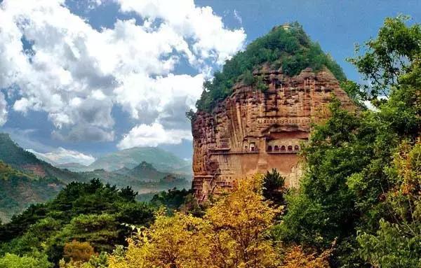 """甘肃这座石窟,跨度1600多年,素有""""东方雕塑馆""""的美誉"""