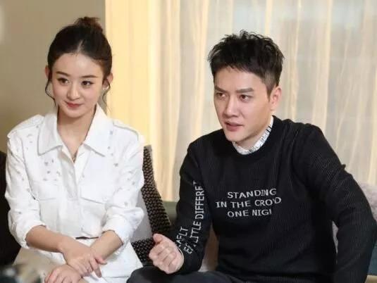 冯绍峰官宣赵丽颖怀孕,连带宣传两人新剧,这波广告打得真是6