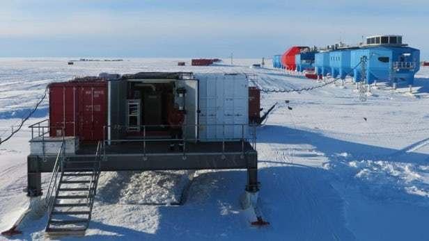 自动化南极站在冬季的黑暗中仍能继续工作