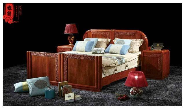 一张好床对孩子的意义,雅韵红木