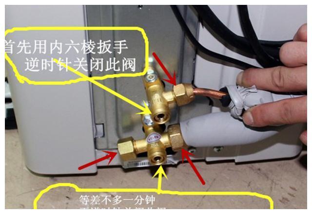 空调外机上这两个阀门别乱动!制冷剂泄漏,空调越开越热要另加氟