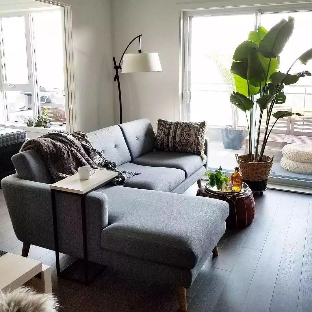 38㎡北欧风单身公寓,进门就被圈粉了!餐厨一体设计,太美了!