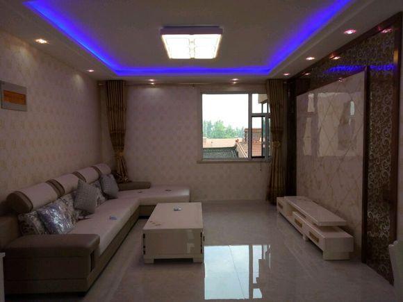 新房112平完工啦, 包括家电花20万, 餐厅不大, 就放个餐桌