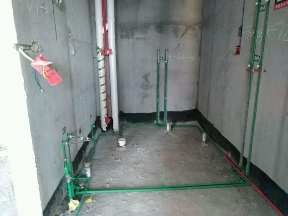 水电装修1个月完工, 地线不开槽, 貌似还没弱电