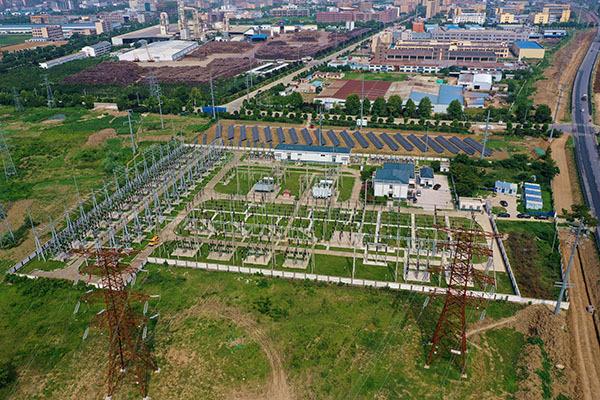 阜阳供电:安徽首条220千伏耐候钢铁塔线路启动送电