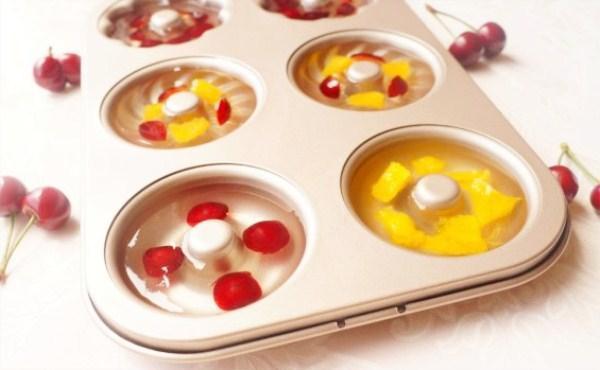 夏天,孩子最爱吃果冻了,教你制造高颜值生果果冻,无添加剂色素