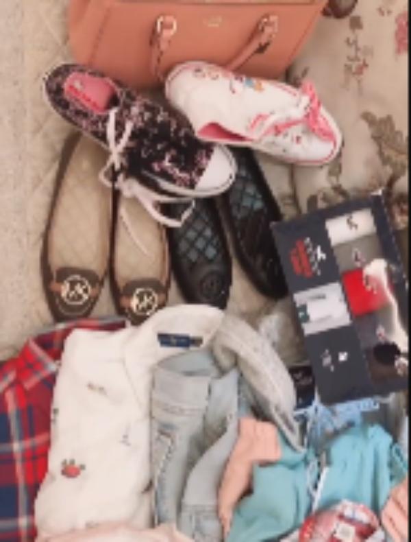西热力江变着花样宠媳妇,名牌鞋、包买了一地!球迷:真爱啊!