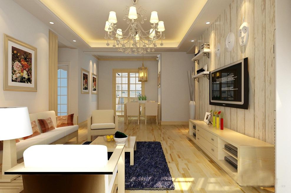 客厅新中式yabo88滚球,优雅与古典的融合