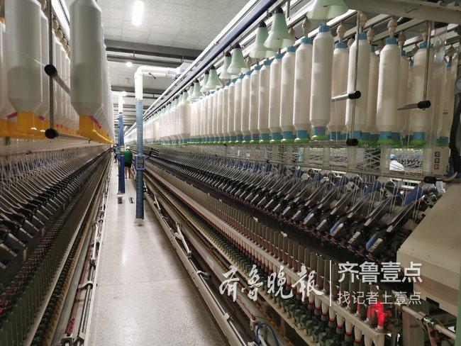 年产纱线16000吨,枣庄这家企业年销售额达5亿