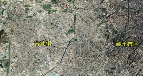 广东潮州潮安区一个大镇,和市中心融为一体,盛产卫生洁具