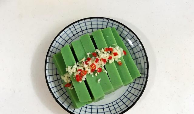 绿色的凉粉你有吃过吗?不含添加剂,口感丰富,美味又营养!