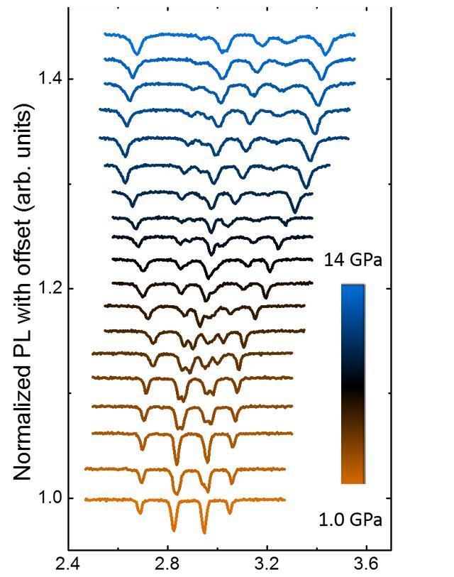 金刚石对顶砧中NV中心实现的,高压原位磁测量