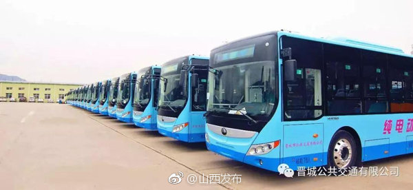 ,64台新能源纯电动公交车上线运营啦