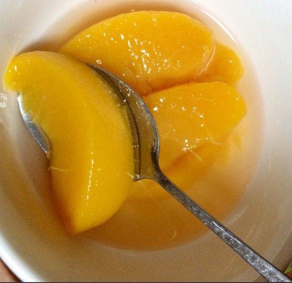 小葱轻食记——黄桃: 黄桃不只可以做罐头!