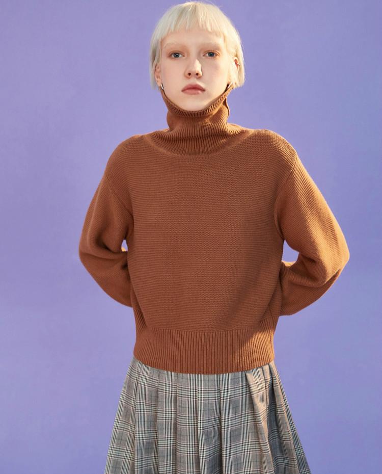今年流行搭配这3种针织衫,显瘦显腿长